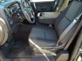 Ebony Front Seat Photo for 2013 Chevrolet Silverado 1500 #76245194