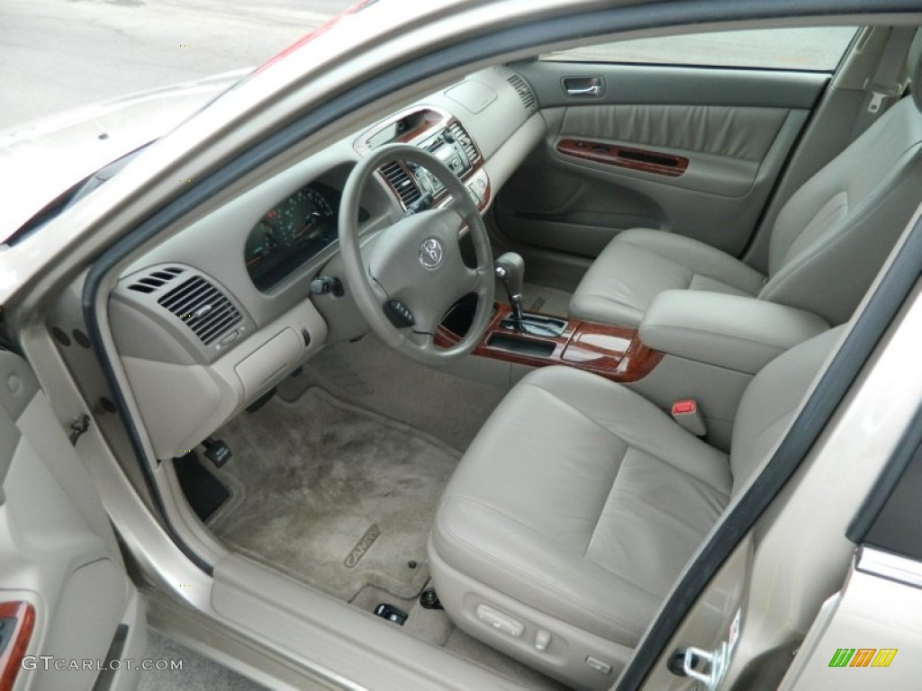 taupe interior 2004 toyota camry xle v6 photo 76246940. Black Bedroom Furniture Sets. Home Design Ideas