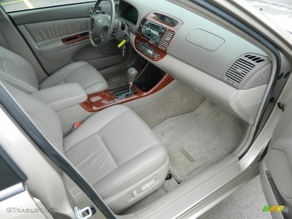2004 Toyota Camry XLE V6 Interior Color Photos | GTCarLot.com