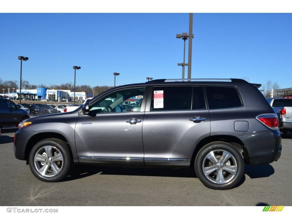 Magnetic gray metallic 2013 toyota highlander limited exterior photo 76255478 Toyota highlander 2014 exterior