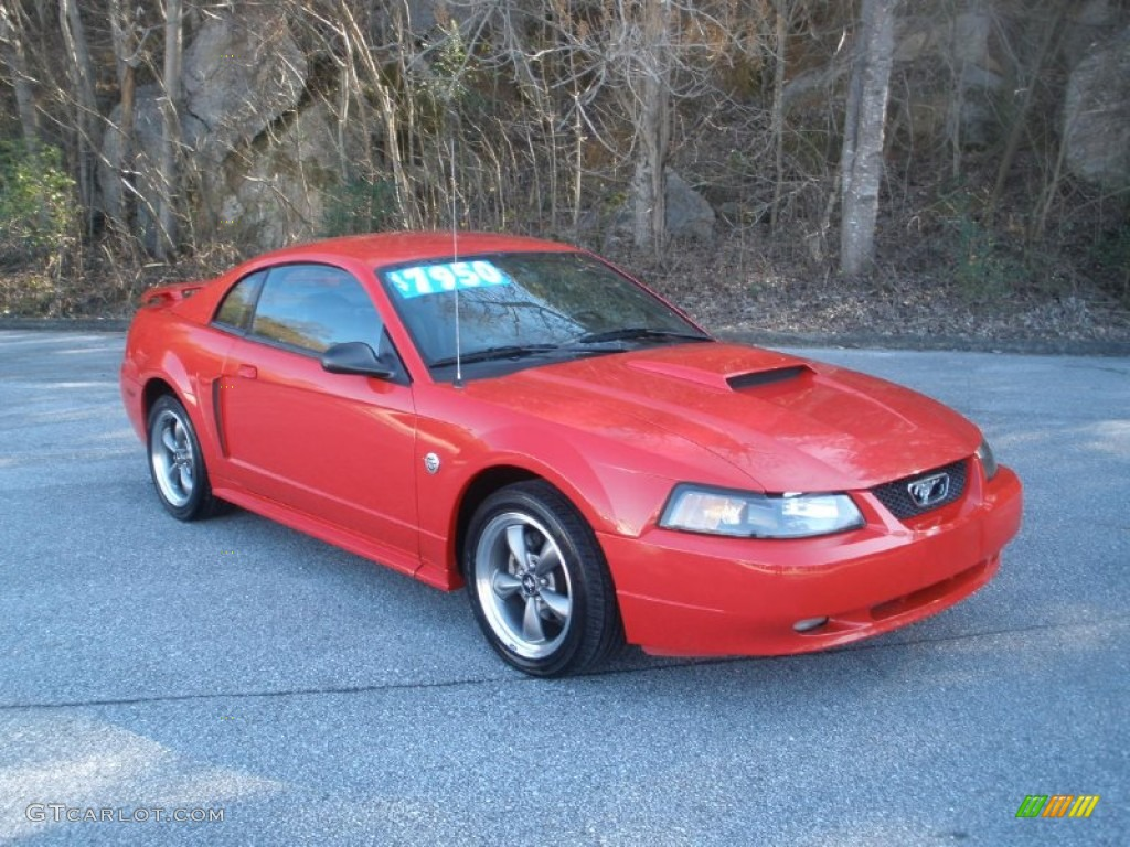 Torch Red 2004 Ford Mustang Gt Coupe Exterior Photo