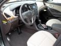Beige Prime Interior Photo for 2013 Hyundai Santa Fe #76261316