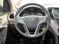 Beige Steering Wheel Photo for 2013 Hyundai Santa Fe #76261412