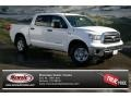 2013 Super White Toyota Tundra CrewMax 4x4  photo #1