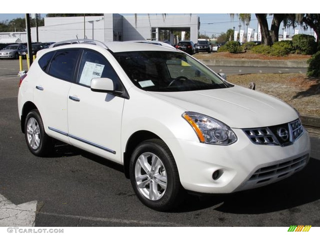 2013 pearl white nissan rogue sv 76278694 photo 13 gtcarlot pearl white nissan rogue vanachro Image collections