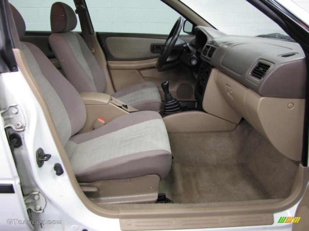 2000 Subaru Impreza L Sedan Interior Color Photos