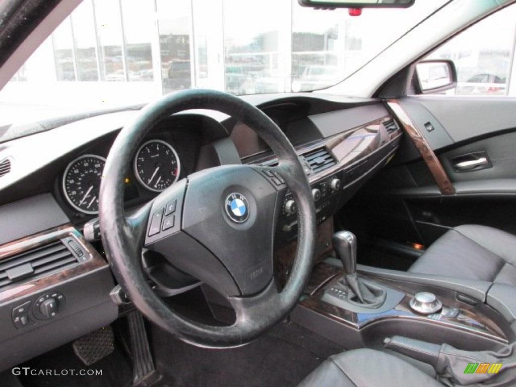2005 Bmw 5 Series 530i Sedan Black Dashboard Photo 76291104 Gtcarlot Com