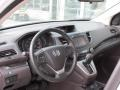 Beige 2012 Honda CR-V EX-L 4WD Dashboard