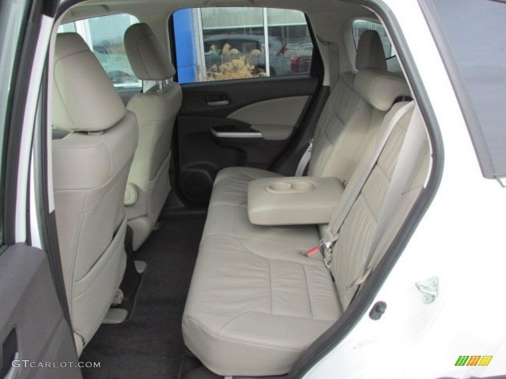 2012 Honda CR-V EX-L 4WD Rear Seat Photo #76291571