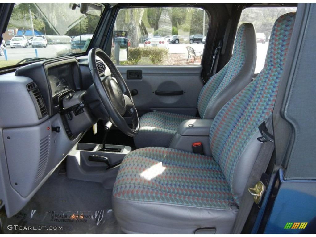 1997 Jeep Wrangler Sport 4x4 Interior Photos