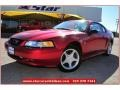 Laser Red Metallic 1999 Ford Mustang Gallery