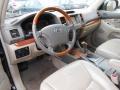 Ivory 2003 Lexus GX Interiors
