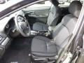 Black Front Seat Photo for 2013 Subaru Impreza #76306330