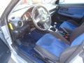 2005 Subaru Impreza Black/Blue Ecsaine Interior Prime Interior Photo