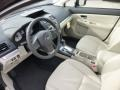 Ivory Front Seat Photo for 2013 Subaru Impreza #76309169