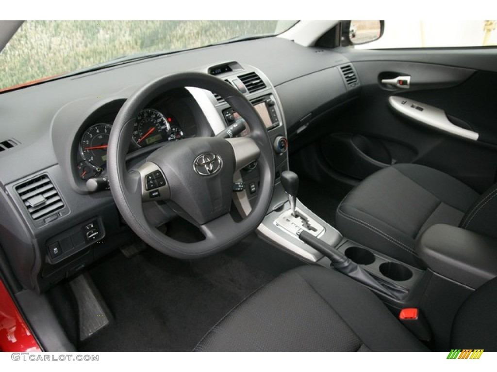 Dark Charcoal Interior 2013 Toyota Corolla S Photo 76309989