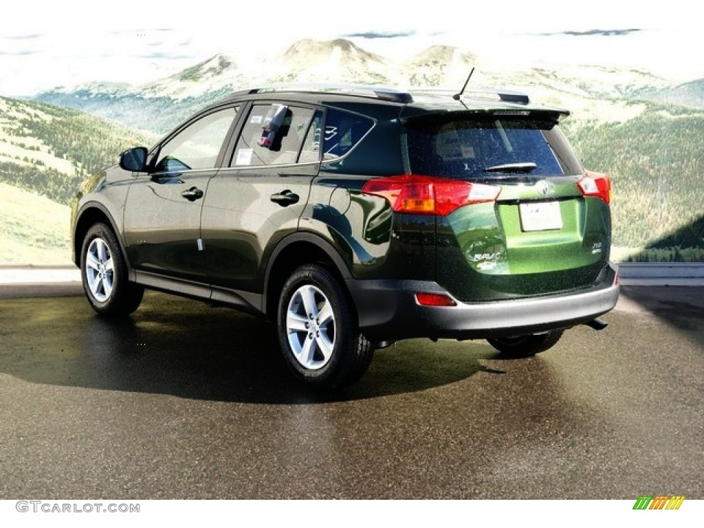 2013 spruce green mica toyota rav4 xle awd 76278959 photo. Black Bedroom Furniture Sets. Home Design Ideas