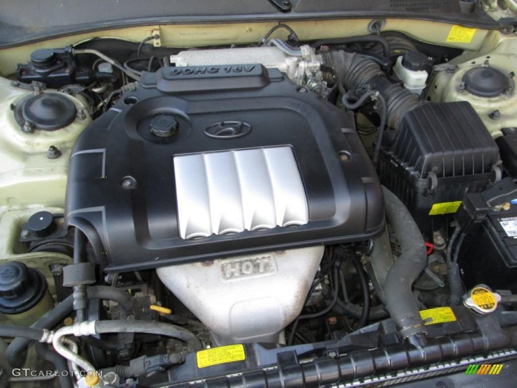 2004 Hyundai Sonata Standard Sonata Model 2 4 Liter Dohc