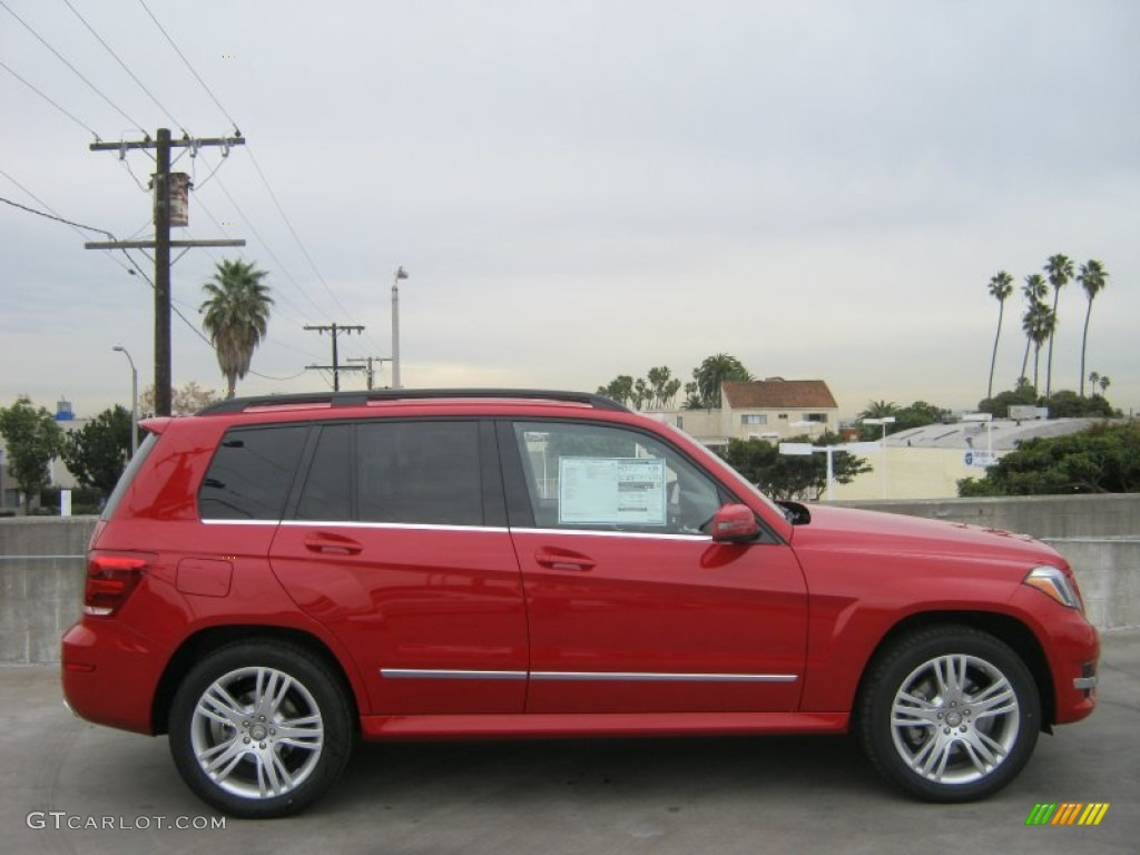 Mars Red 2013 Mercedes Benz Glk 350 Exterior Photo