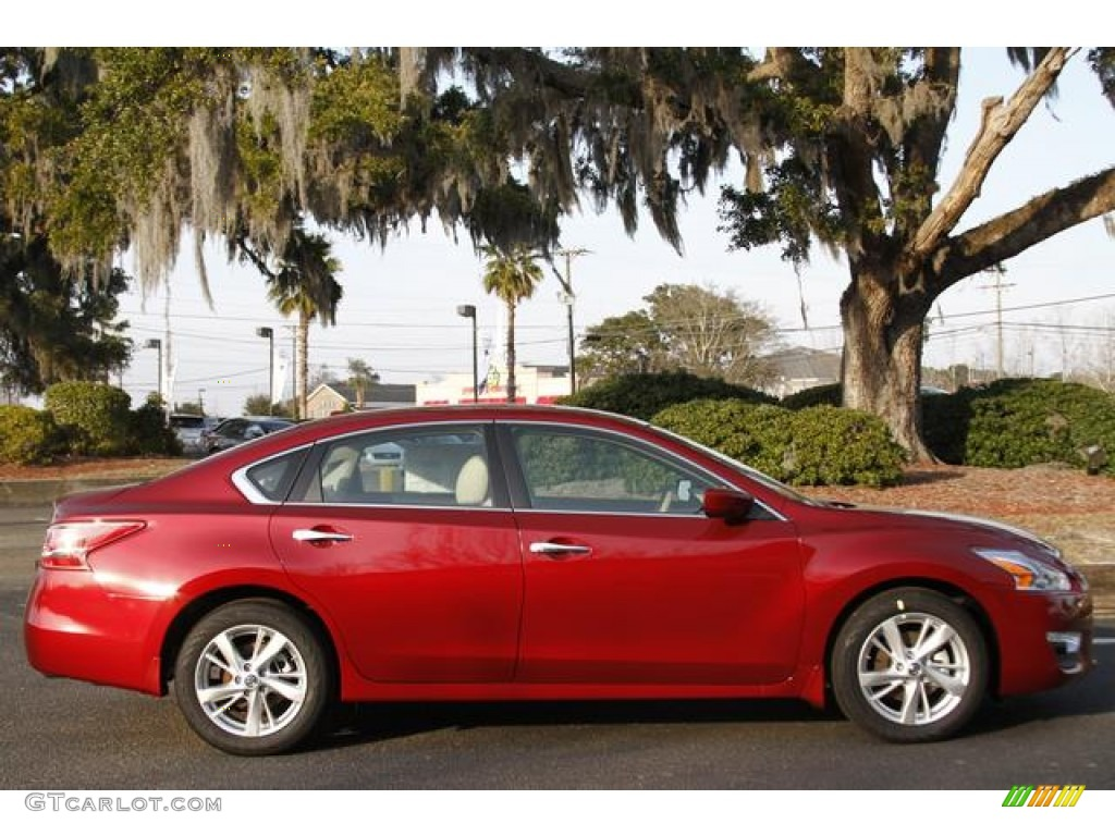 Cayenne Red 2013 Nissan Altima 2 5 Sv Exterior Photo 76335245