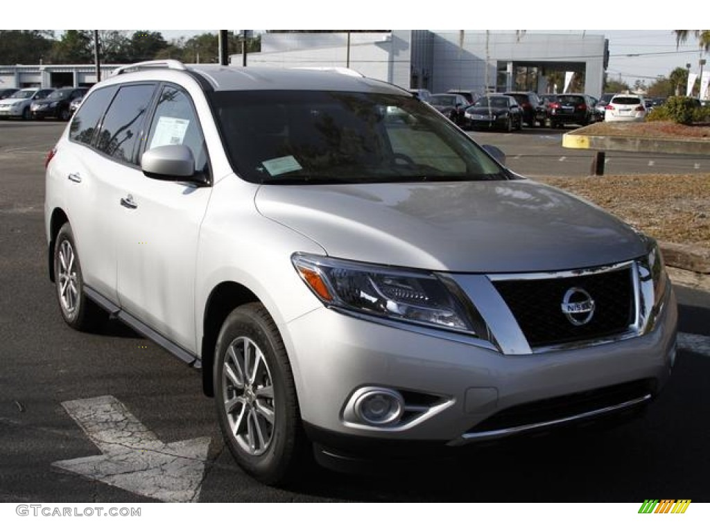 2013 Brilliant Silver Nissan Pathfinder Sv 76332042