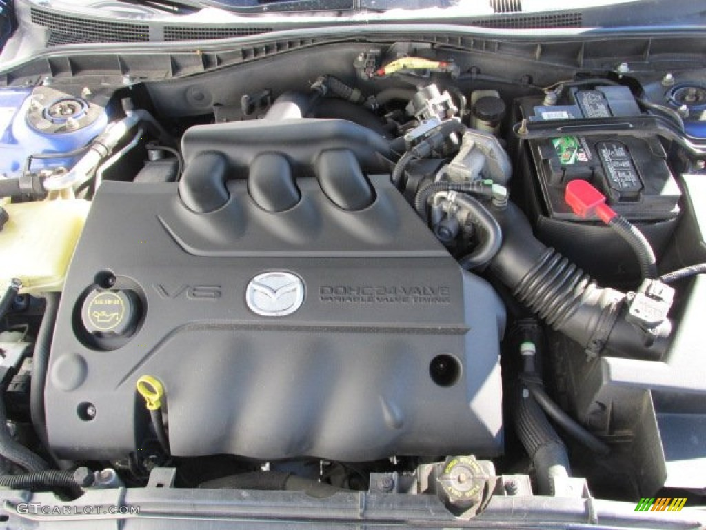 2006 mazda mazda6 s sport sedan engine photos. Black Bedroom Furniture Sets. Home Design Ideas