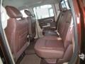 Rear Seat of 2013 1500 Laramie Longhorn Crew Cab