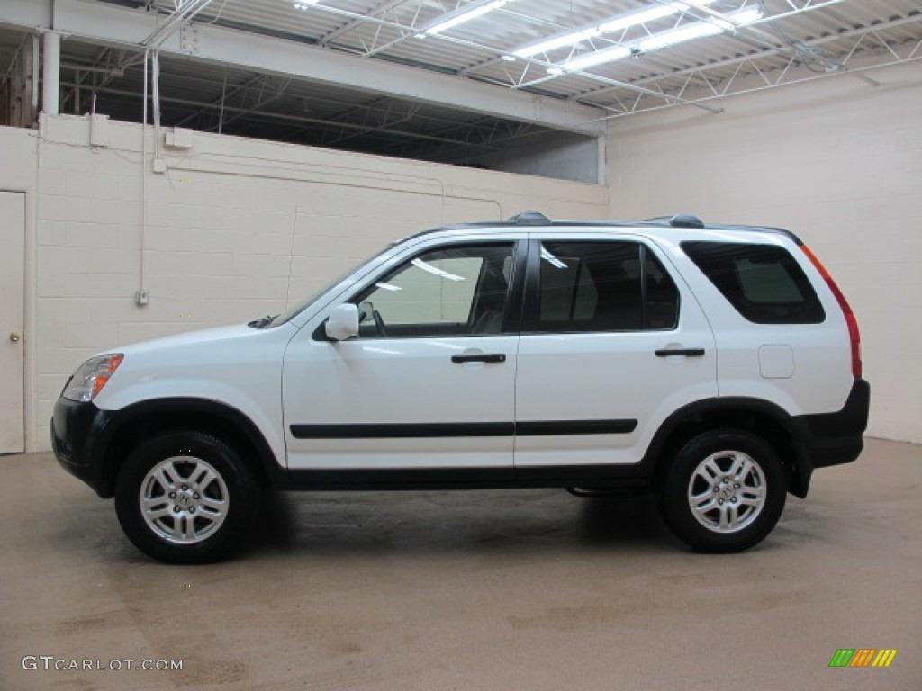 Taffeta White 2003 Honda Cr V Ex 4wd Exterior Photo 76373851 Gtcarlot Com