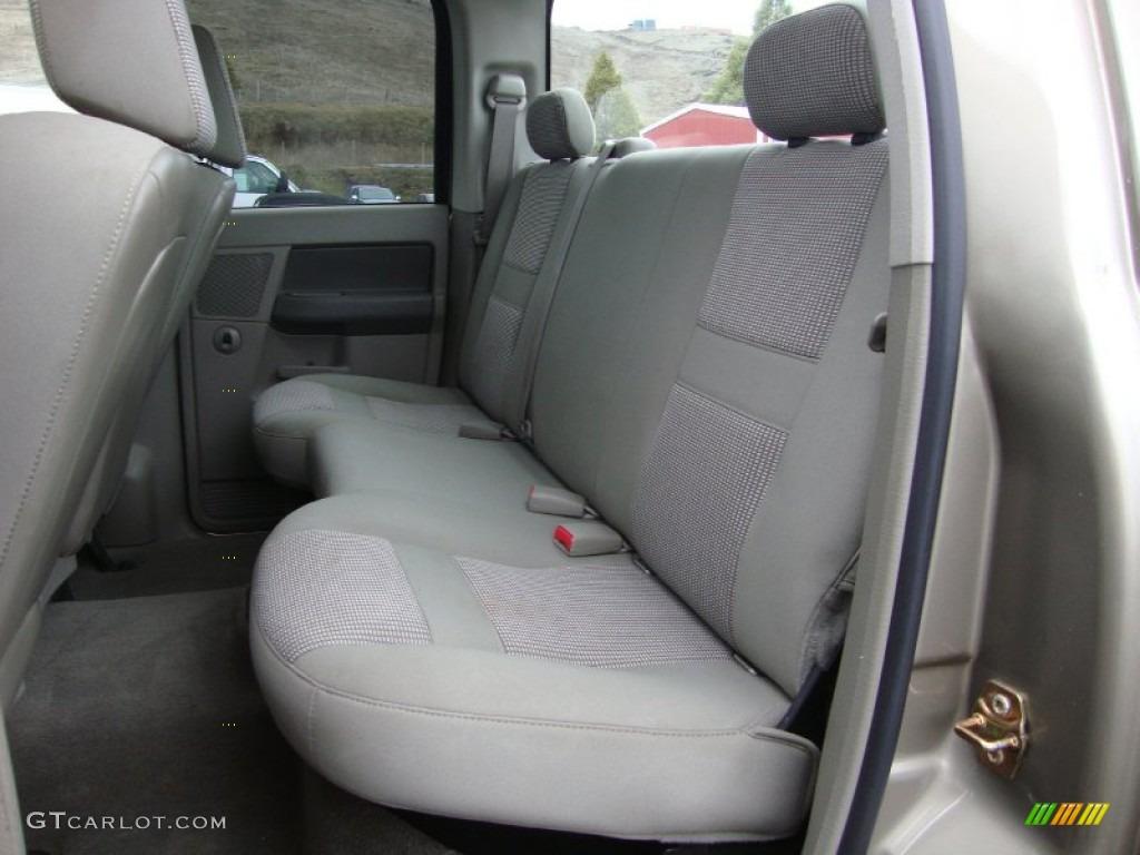 Khaki Beige Interior 2006 Dodge Ram 1500 Slt Quad Cab 4x4 Photo 76379011