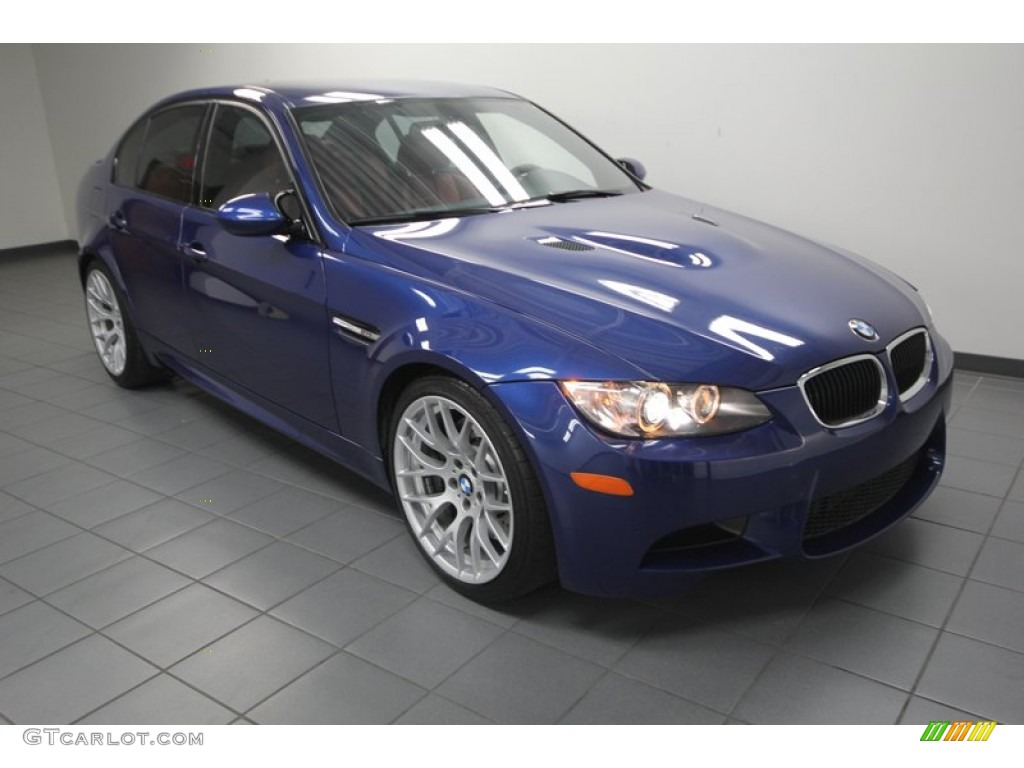 2011 Le Mans Blue Metallic Bmw M3 Sedan 76332955 Gtcarlot Com Car Color Galleries