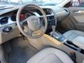 Cardamom Beige 2009 Audi A4 Interiors