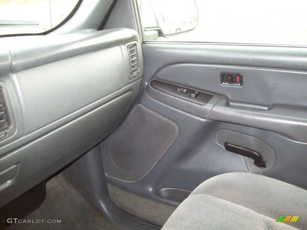 2005 Silverado 1500 LS Crew Cab 4x4 - Dark Green Metallic / Dark Charcoal photo #20