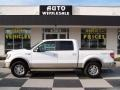 White Platinum Metallic Tri Coat 2010 Ford F150 King Ranch SuperCrew 4x4