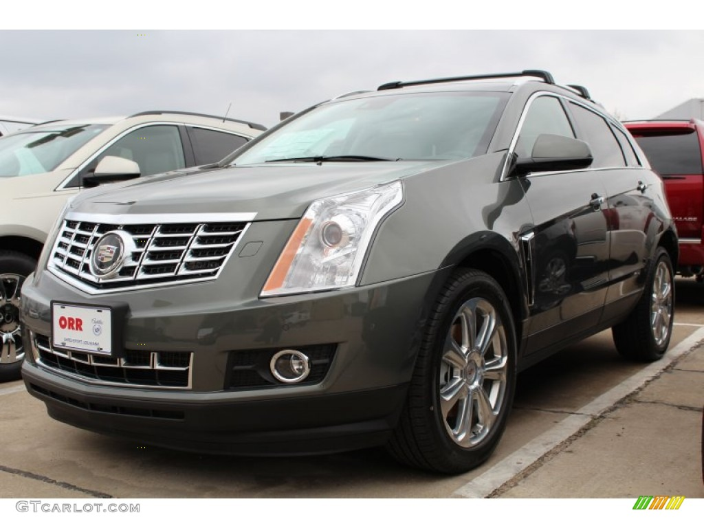 2013 Gray Flannel Metallic Cadillac Srx Premium Fwd 76389307 Car Color Galleries