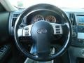 2008 Infiniti FX Graphite Interior Steering Wheel Photo