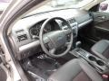Charcoal Black/Red 2008 Ford Fusion Interiors