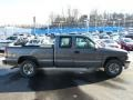 2000 Charcoal Gray Metallic Chevrolet Silverado 1500 LS Extended Cab 4x4  photo #13