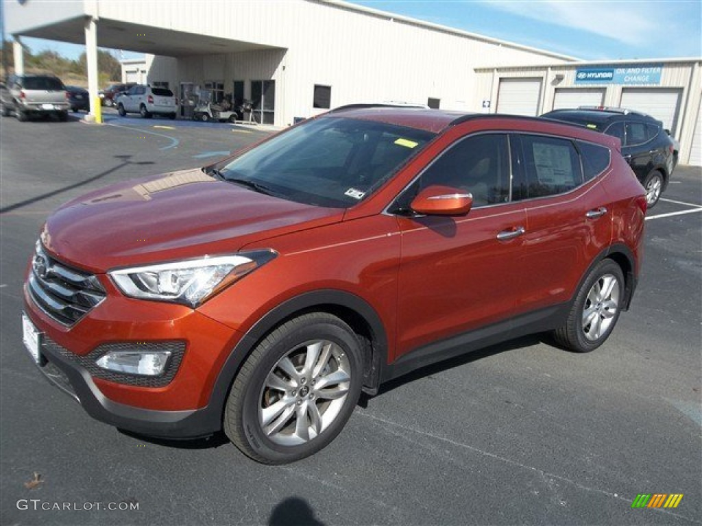 canyon copper 2013 hyundai santa fe sport 2 0t exterior photo 76408656. Black Bedroom Furniture Sets. Home Design Ideas
