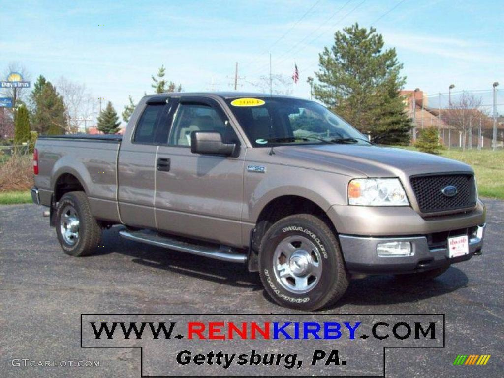 2004 arizona beige metallic ford f150 xlt supercab 4x4 7636639 gtcarlot com car color galleries