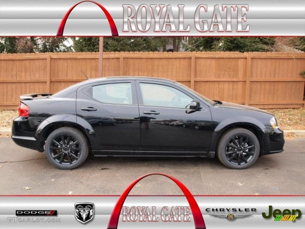 2013 Black Dodge Avenger SXT Blacktop #76388982 | GTCarLot.com - Car ...