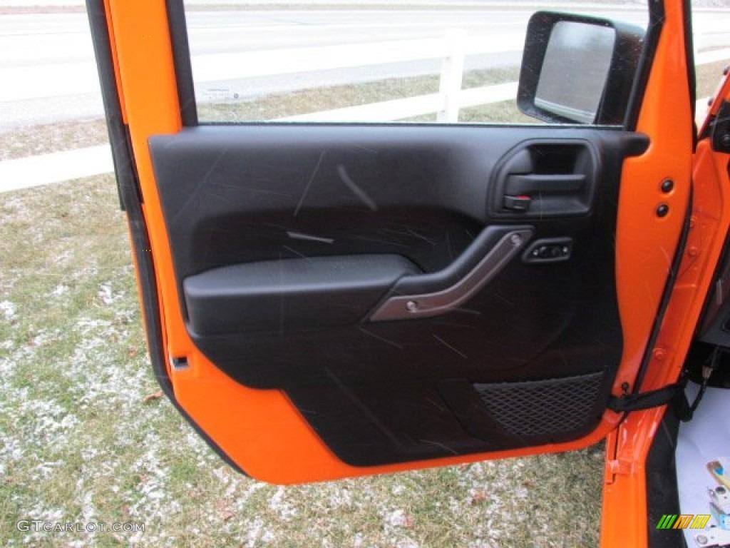 2012 Jeep Wrangler Sport S 4x4 Door Panel Photos