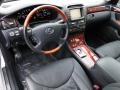Black 2004 Lexus LS Interiors