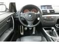 2010 BMW 1 Series Black Interior Dashboard Photo