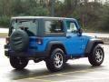 2011 Cosmos Blue Jeep Wrangler Sport 4x4  photo #6