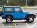 2011 Cosmos Blue Jeep Wrangler Sport 4x4  photo #7