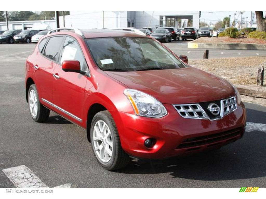 2013 Cayenne Red Nissan Rogue SL #76455989 | GTCarLot.com ...