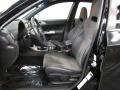 2009 Subaru Impreza Graphite Gray Alcantara/Carbon Black Leather Interior Interior Photo