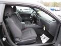 Dark Slate Gray Interior Photo for 2013 Dodge Challenger #76470074