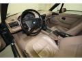 Beige Interior Photo for 1997 BMW Z3 #76473666