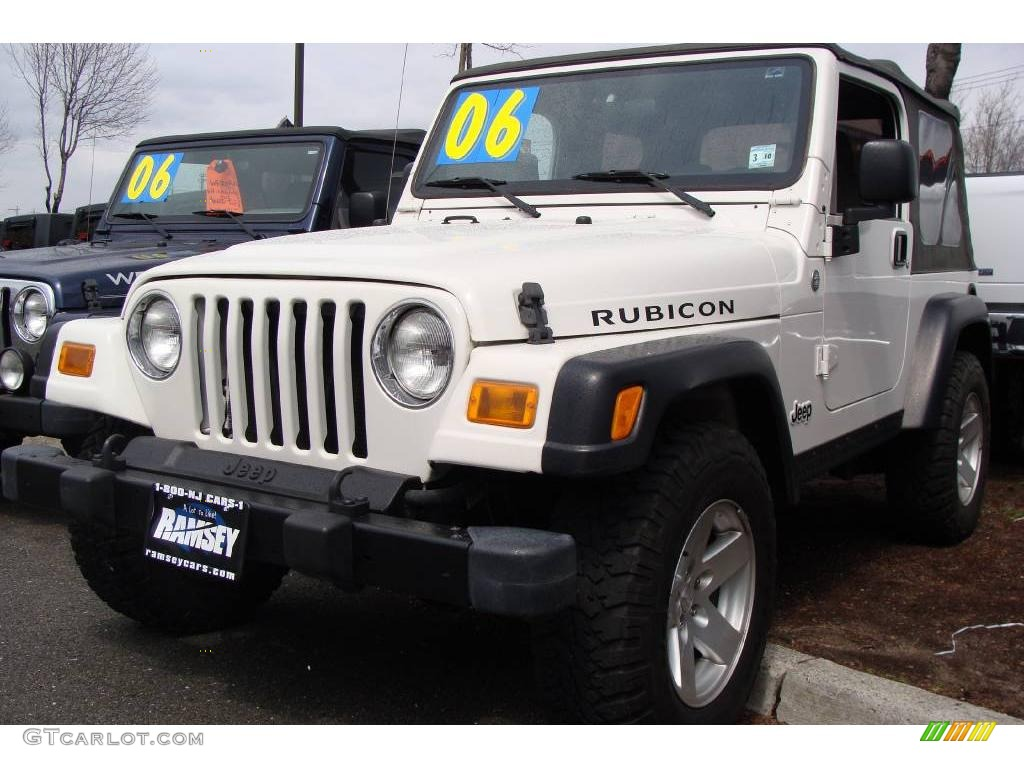 2006 stone white jeep wrangler rubicon 4x4 7635144 photo 5 car color galleries. Black Bedroom Furniture Sets. Home Design Ideas